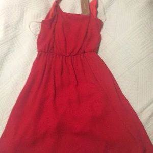 Red Francesca's dress